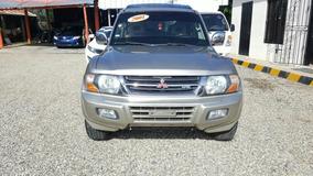 Mitsubishi Montero Americana 2001