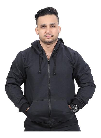 Casaco Moletom Blusa De Frio Aberto Zíper Esporte Unissex