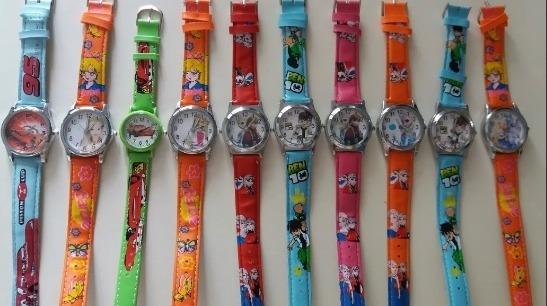 Kit C/10 Relógios Para Crianças, Bons Bonitos Baratos