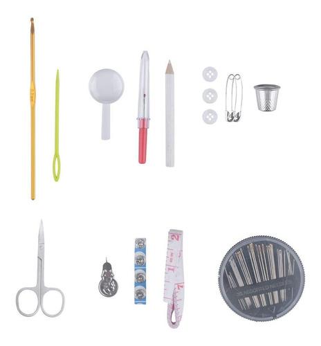 Sentik Lujo 210 piezas Kit de costura y almacenamiento Caddy