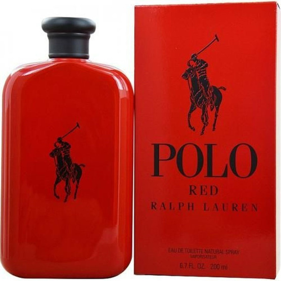 Ralph Lauren Polo Red Masculino 200ml Selo Adipec Promo