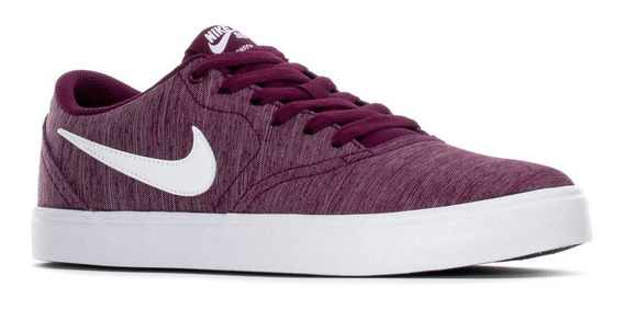 Zapatillas Nike Sb Check Violeta Hombre Mujer Original Nuevo