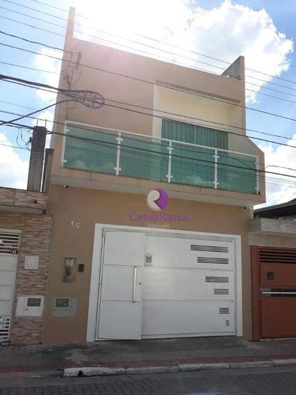 Lindo Sobrado Com 3 Dormitórios À Venda, 230 M² - Jardim Nova Poá - Poá - So0384