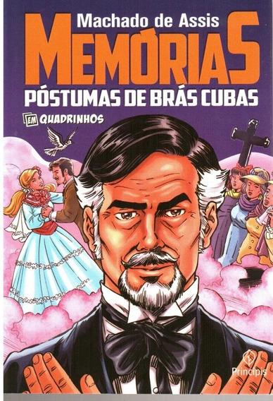 Livro Memórias Póstumas De Brás Cubas Em Quadrinhos Hq