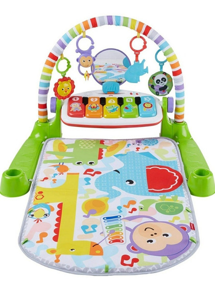 Ginásio Fisher Price Piano Deluxe 0-36 Meses Ginásio Piano