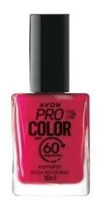 Imagem 1 de 1 de Avon - Pro Color 60 Segundos - Esmalte - Rosa Moderno