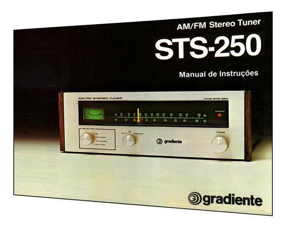 Manual Do Sintonizador Gradiente Sts-250 (cópia Colorida)