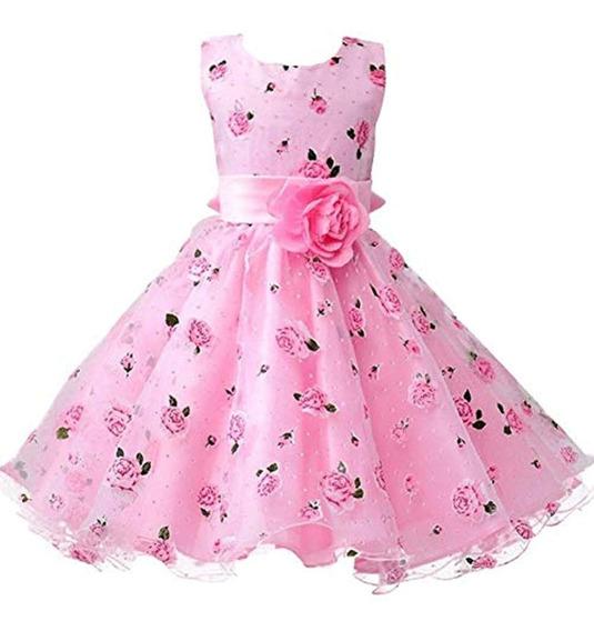 Berngi Baby Girls Birthday Dresses Floral