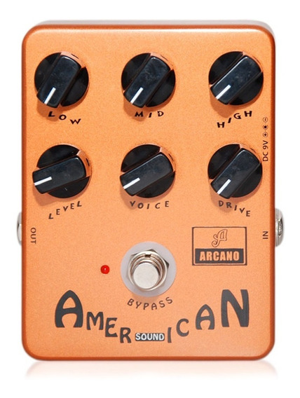 Pedal Emulador De Amp Arcano Arc-zfen Baseado Em Fender Sans