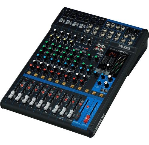 Consola Yamaha Mixer De 12 Canales Con Efectos