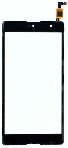 Imagen 1 de 3 de Touch Screen Negro Celular Lanix Ilium X710
