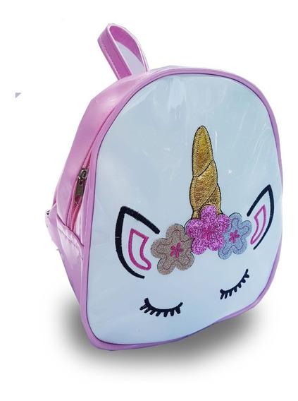 Mochila Mini S Orejas Unicornio Niñas Adolescentes
