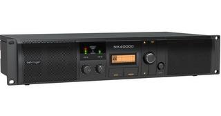 Behringer Nx3000d - Amplificador De Potencia Control Dsp