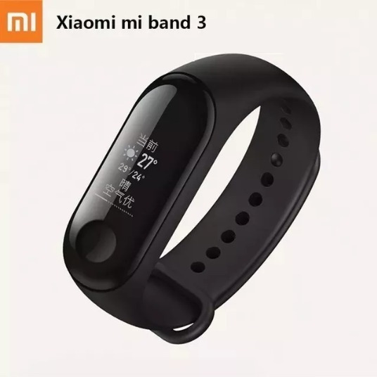 Mi Band 3 Relógio Pulseira Smartwatch Monitor Cardíaco