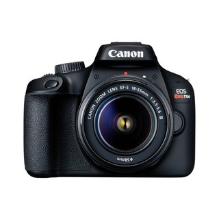 Camara Canon Eos Rebel T100 18mp Cmos Fhd 30p Ef-s 18-55mm