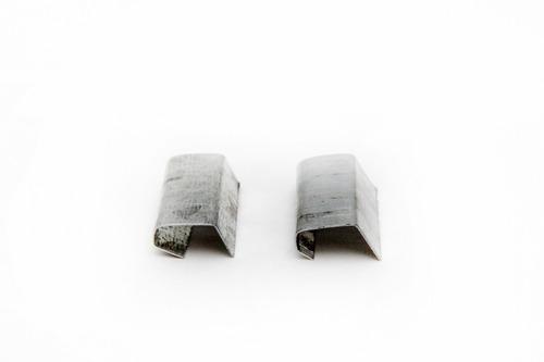 Imagen 1 de 3 de Precinto Pestaña Para Fleje Polipropileno 16mm X 5 Kgs.
