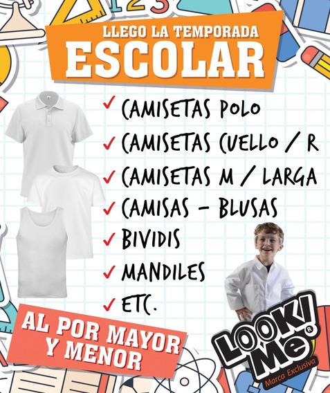 Camisetas Cuello Redondo, Polo, Bividis, Escolares
