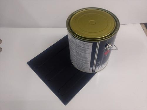 Imagem 1 de 1 de 100 Pçs Piso Direcional Preto Pvc 1 Lata 2.8kg E 1 Lata 700g