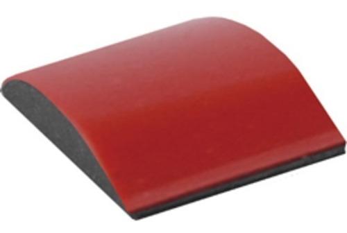 Imagen 1 de 3 de Bagueta Moldura Puerta Auto Protector 9mm Rojo