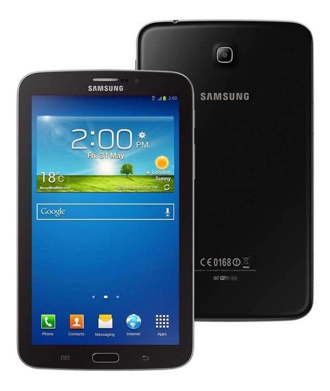 Tablet Samsung Tab 3 (sm-t210) 7.0 Wifi Preto + Brinde