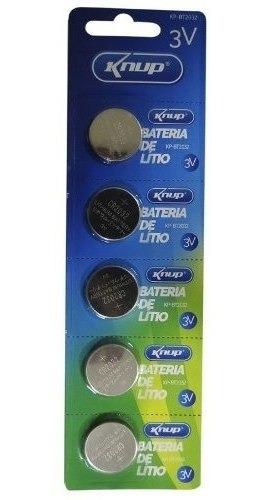 Bateria Cr2032 3v Lithium Kit 20 Cartelas C/5 Und Placa Mãe