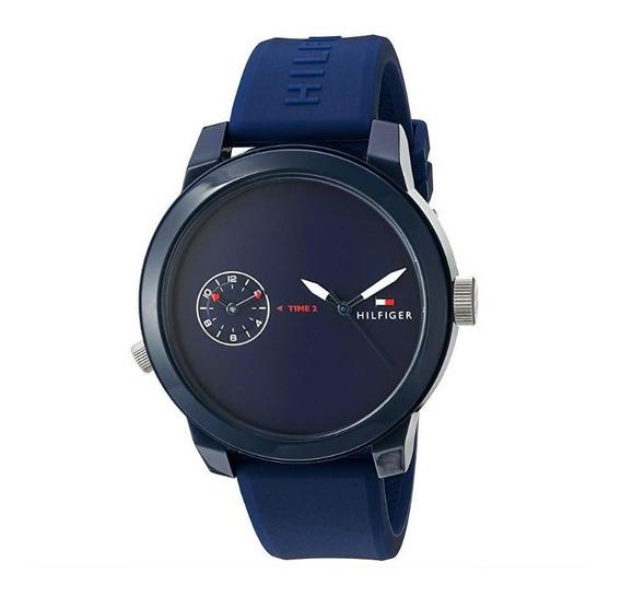 Reloj Tommy Hilfiger M. 1791325 Cuarzo Silicona Hombre / J