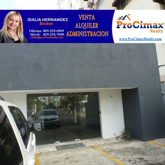 Alquilo Amplio Local En Naco 280 Mts2, Us$4,800.00, 3parqueo