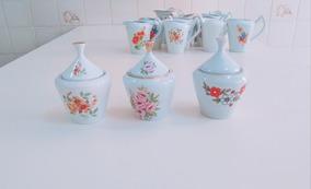 Açucareiro Antigo Porcelana Pozzani , Vários Modelos !