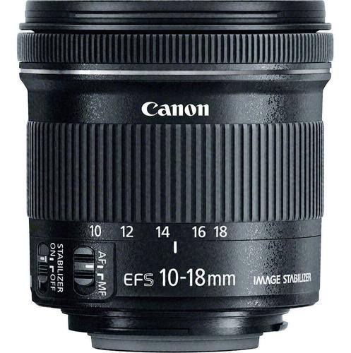 Lente Canon Ef-s 10-18mm F/4.5-5.6 Is Stm Objetiva