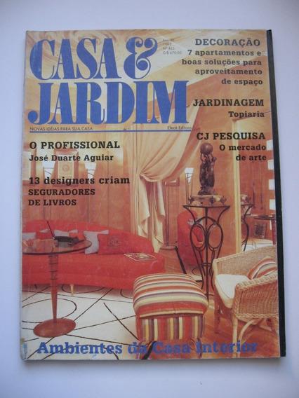 Revista Casa E Jardim - Nº 465 - Ambientes Da Casa Interior