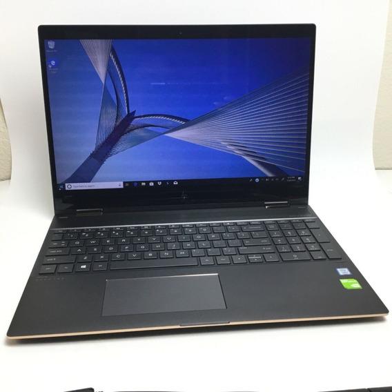 Notebook Hp Spectre X360 15,6 I7 8550u16gb 512gb Ssd 4kuhd