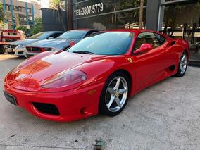 Ferrari F360 3.6 F1 Modena V8 40v 1999