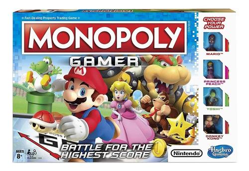 Imagen 1 de 4 de Juego De Mesa Monopoly Mario Bross Gamer