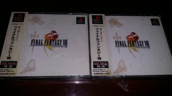 Pac Dois (2) - Final Fantasy Viii 8 (original Japonês)