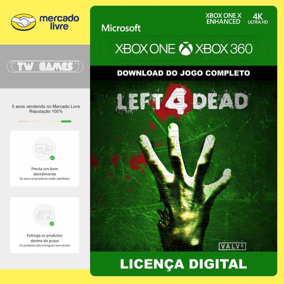 Left 4 Dead L4d Digital Retrocompativel Xbox One Xbox 360