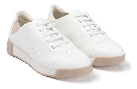 Tênis Feminino Piccadilly Cadarço Elástico 988001-1 Branco