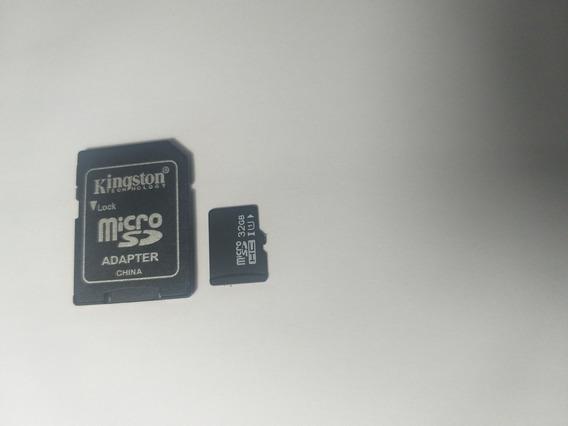 Cartão De Memória Kingston Adapter 32gb