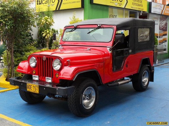 Jeep Willys Ford Llanero