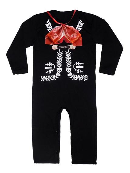 Disfraz De Mariachi / Traje De Charro Para Bebe Con Moño Real De Liston