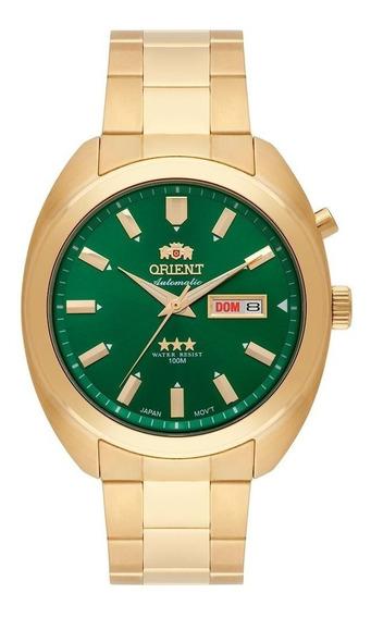 Relógio Orient Automatico 3 Estrelas Masculino 469gp077 E1kx