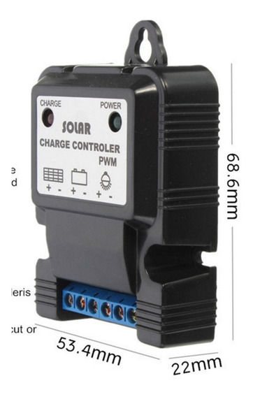 Mini Controlador De Carga 10a Para Placa Solar Carregador