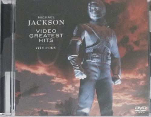 Michael Jackson - Video Greatest Hits History Dvd