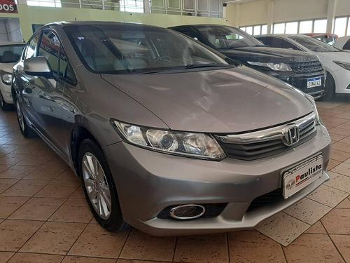 Imagem 1 de 8 de Honda Civic 1.8 Lxs 16v Flex 4p Automático