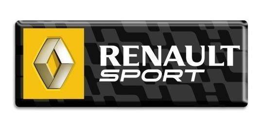 Emblema Resinado Renault Sport Sandero Rs Gt - Fix Street