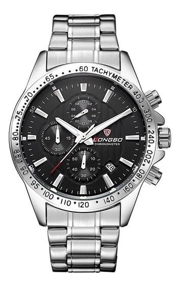 Relógio Longbo Masculino Esportivo Cronógrafo Original