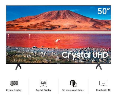 Televisor Samsung 50  Un50tu7000 Crystal 4k Bluetooth One Re