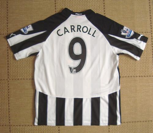Camisa Original Newcastle United 2007/2008 Home #9 Carroll
