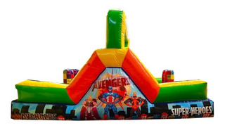 Escaladora Inflable Rampa Para Niños 100% Uso Rudo Negocio!