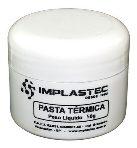 Pasta Térmica De Silicone Dissipadora Calor Processador + Nf