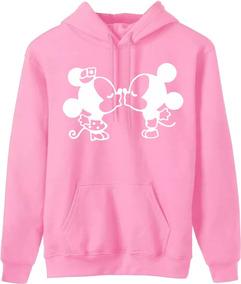 Moletom Minnie Mickey Feminino Blusa Canguru Moleton Frio Of